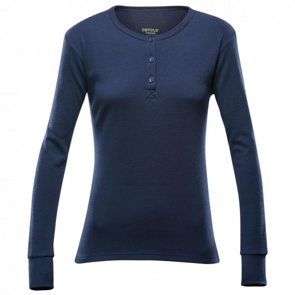 Devold - Nature Woman Button Shirt - Merinovilla-alusvaatteet