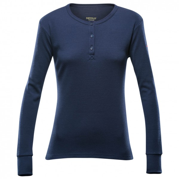 Devold - Nature Woman Button Shirt - Underkläder merinoull