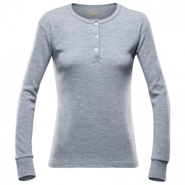 Devold - Women's Nature Button Shirt - Merino base layers