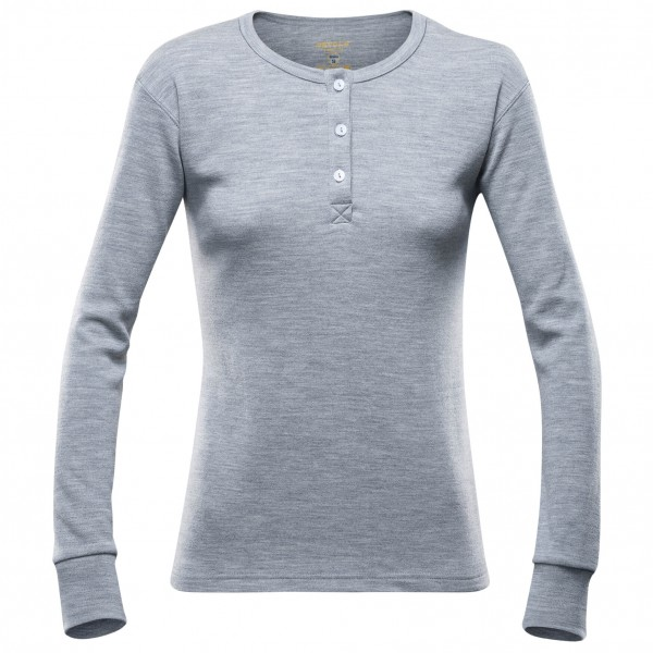 Devold - Women's Nature Button Shirt - Merinovilla-alusvaatt