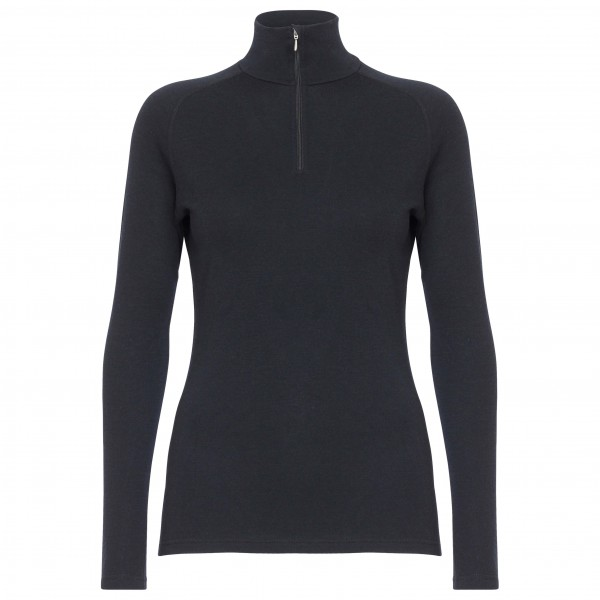 66 North - Basar Women's Zip Neck - Merino ondergoed