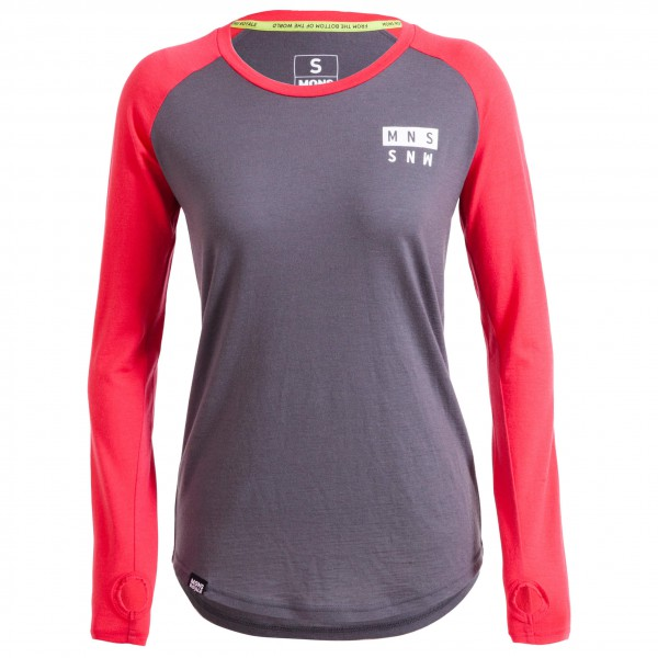 Mons Royale - Womens Rocker Raglan L/S - Merino underwear