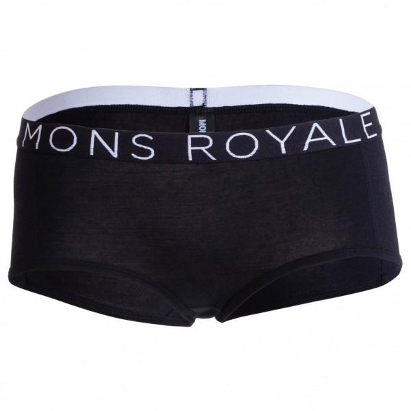 Mons Royale - Womens Sylvia Boyleg - Merinovilla-alusvaattee
