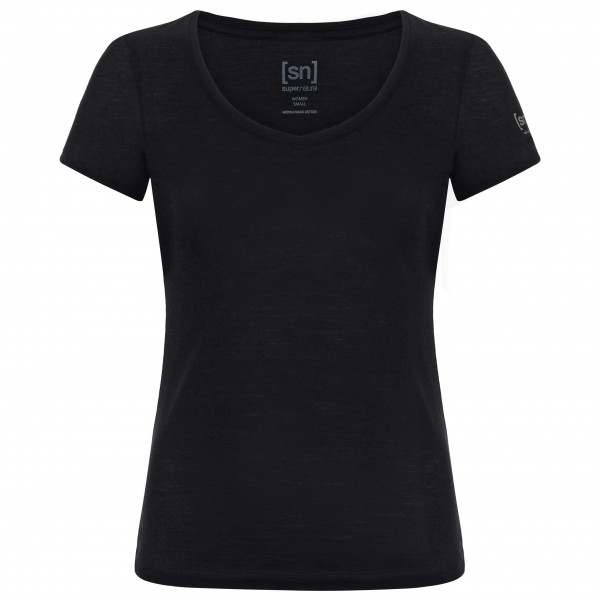 SuperNatural - Women's V-Neck Tee 140 - Merino ondergoed