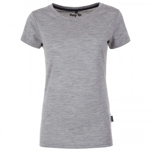 Pally'Hi - Women's T-Shirt Crew Neck - Merinovilla-alusvaatteet