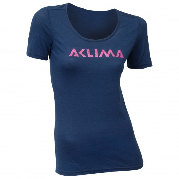 Aclima - Women's LW T-Shirt Logo - Merinounterwäsche
