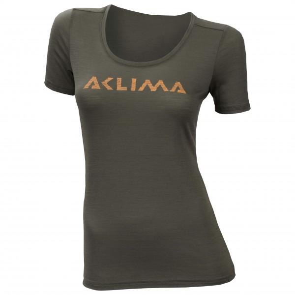 Women's LW T-Shirt Logo - Merino base layer