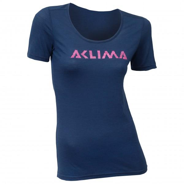 Aclima - Women's LW T-shirt Logo - Merinovilla-alusvaatteet