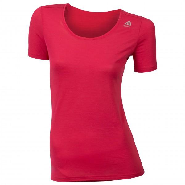 Aclima - Women's LW T-shirt R-neck - Merinovilla-alusvaatteet