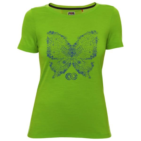 Rewoolution - Women's Papillon Merino Graphic Tee S/S