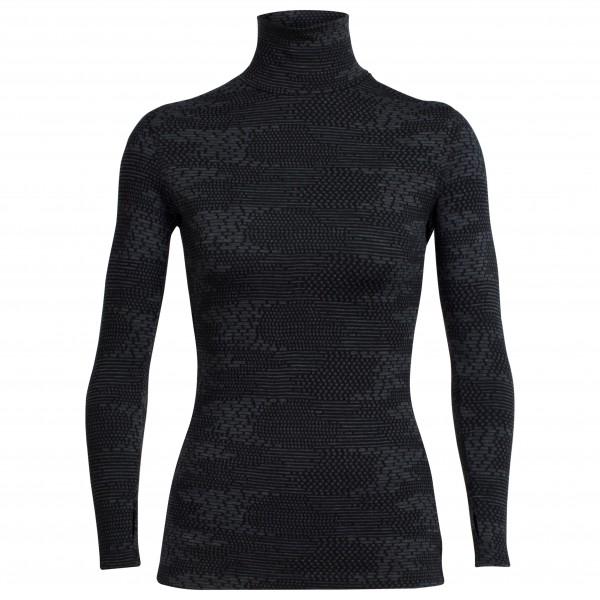 Icebreaker - Women's Vertex L/S Turtleneck Flurry - Merino ondergoed