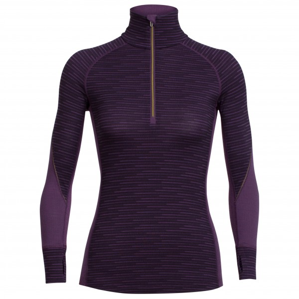 Icebreaker - Women's Winter Zone L/S Half Zip Couloir - Merinounterwäsche