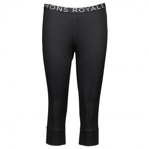 Mons Royale - Women's Alagna 3/4 Legging - Merinovilla-alusvaatteet