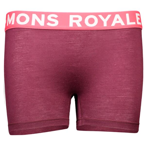 Mons Royale - Women's Hannah Hot Pant FOLO - Merino undertøj