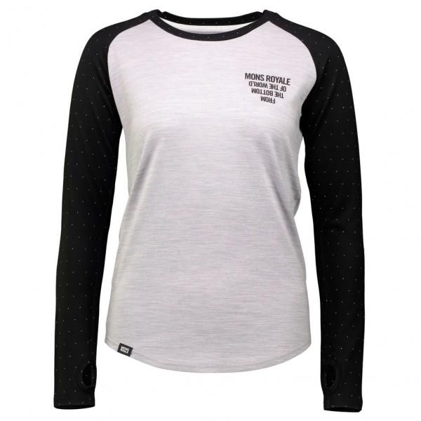 Mons Royale - Women's Rocker Raglan L/S FTBOTW - Underkläder merinoull