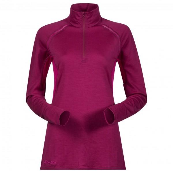 Bergans - Barlind Lady Half Zip - Underkläder merinoull