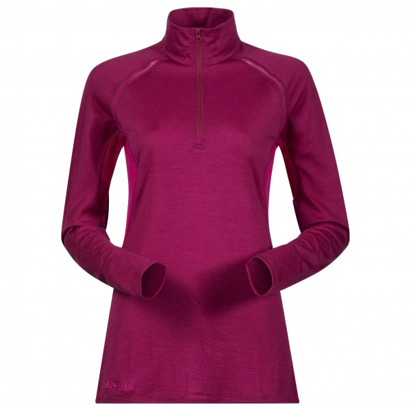 Bergans - Barlind Lady Half Zip - Merino base layer