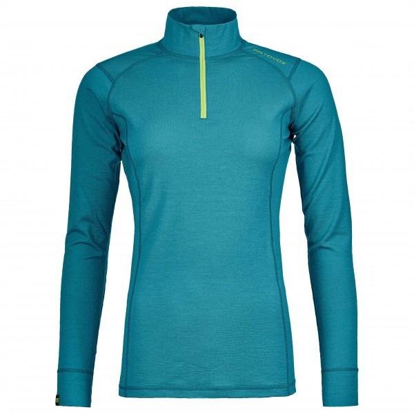 Ortovox - Women's 145 Ultra Zip Neck - Merino ondergoed