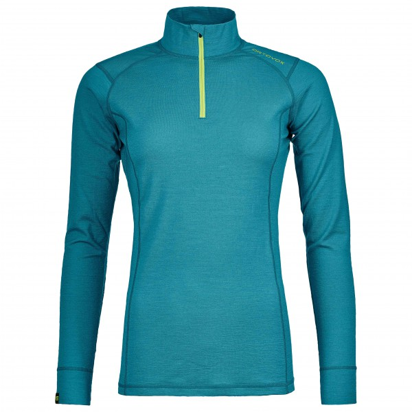 Ortovox - Women's 145 Ultra Zip Neck - Merinounterwäsche