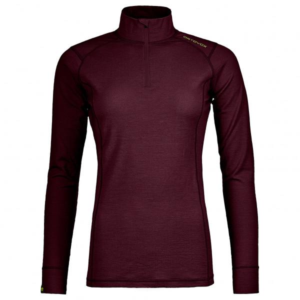 Ortovox - Women's 145 Ultra Zip Neck - Underkläder merinoull