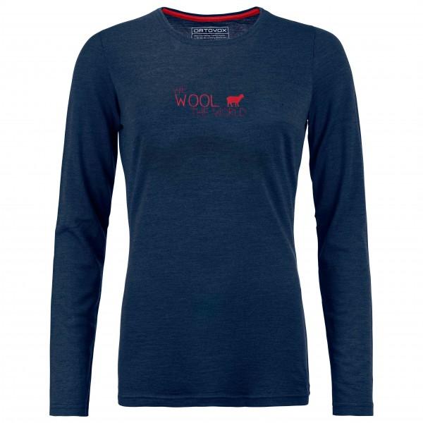 Ortovox - Women's 185 World L/S - Underkläder merinoull
