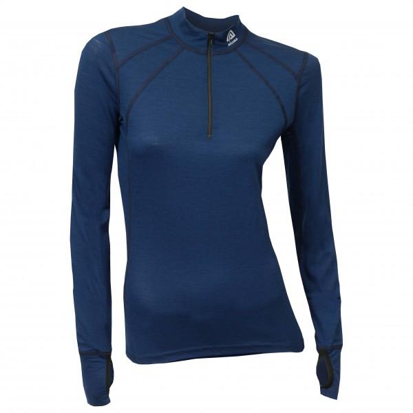Aclima - Lightwool Zip Shirt Woman - Merino ondergoed