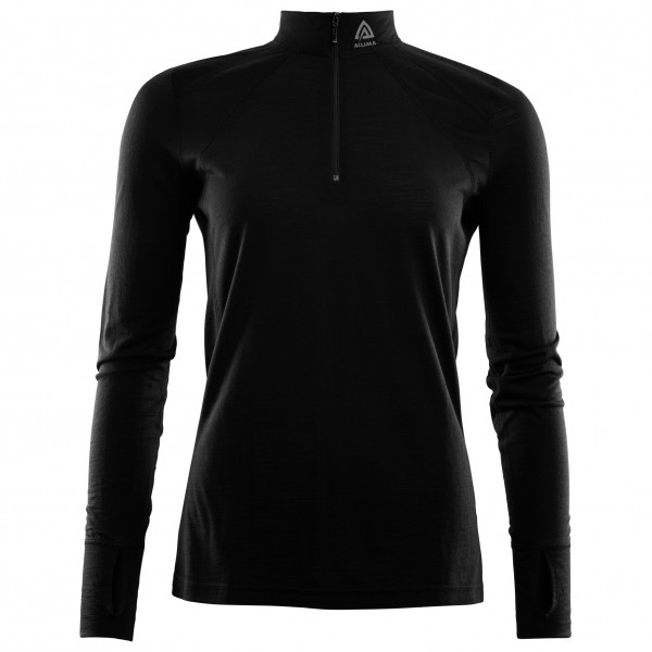 Aclima - LightWool Zip Shirt Woman - Hemd