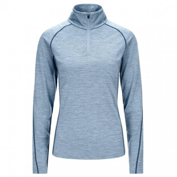 SuperNatural - Women's Base 1/4 Zip 230 - Merinoundertøy