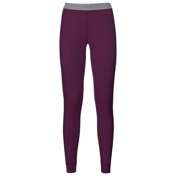 Odlo - Women's Pants Natural 100% Merino Warm - Merinovilla-alusvaatteet