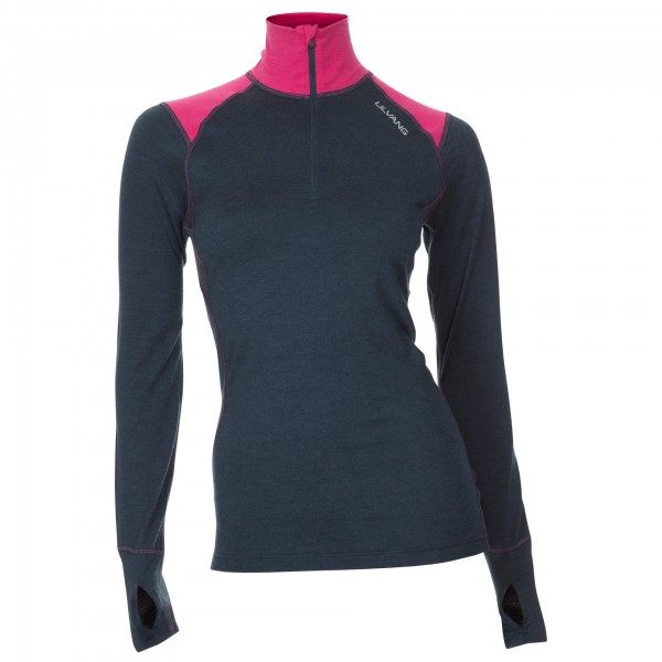 Ulvang - Women's Training Turtle Neck with Zip - Underkläder merinoull