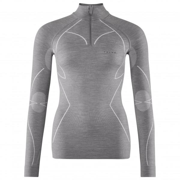Falke - Women's Wool-Tech Zip Shirt - Merinounterwäsche