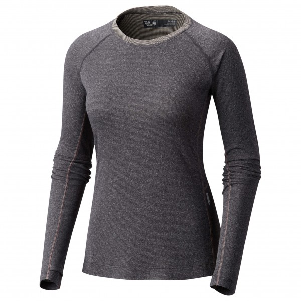 Mountain Hardwear - Women's Kinetic Long Sleeve Crew - Merino ondergoed