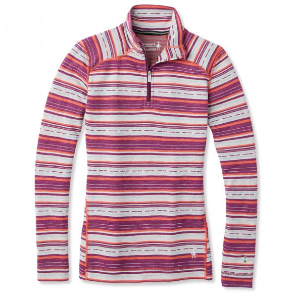 Smartwool - Women's Merino 250 Baselayer Pattern 1/4 Zip - Underkläder merinoull