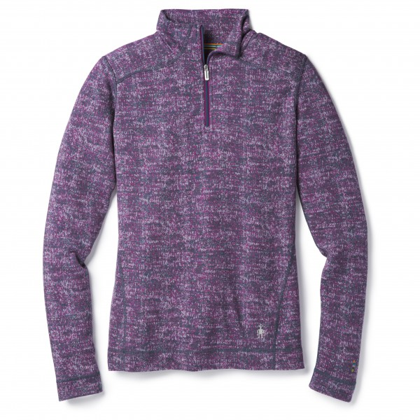 Smartwool - Women's Merino 250 Baselayer Pattern 1/4 Zip - Merino undertøj