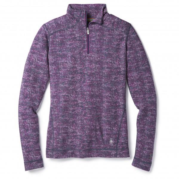 Smartwool - Women's Merino 250 Baselayer Pattern 1/4 Zip - Merinovilla-alusvaatteet