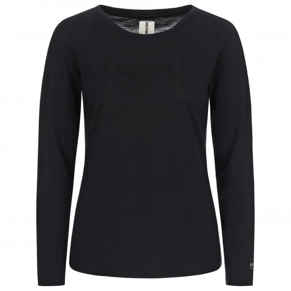 SuperNatural - Women's Essential Graphic L/S - Merino-ondergoed