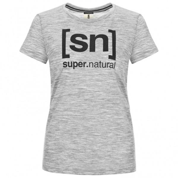 SuperNatural - Women's Essential I.D. Tee - Merinovilla-alusvaatteet