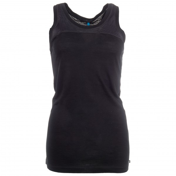 Odlo - Women's Crew Neck Singlet Natural + Ceramiwool - Merino undertøj