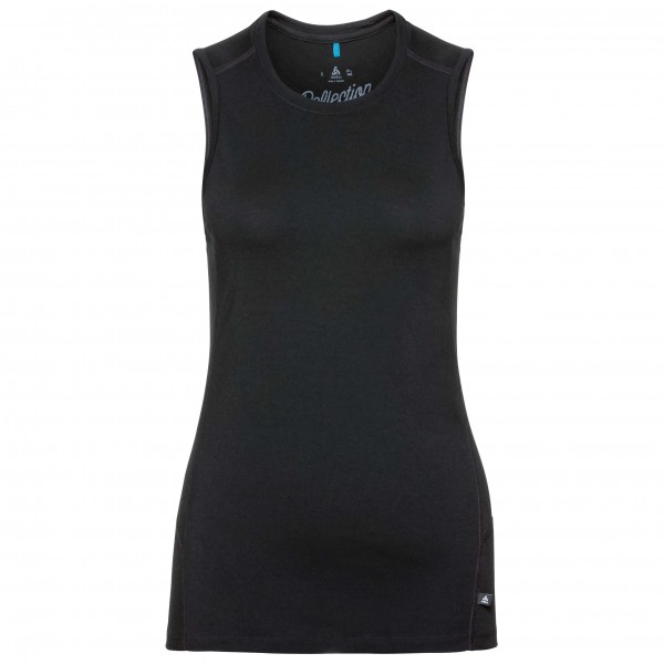 Odlo - Women's Crew Neck Singlet Natural 100% Merino - Merino-ondergoed