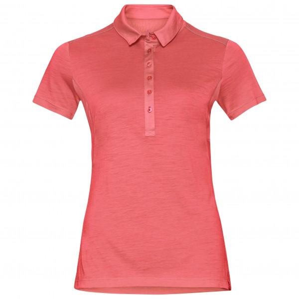 Odlo - Women's Polo S/S Koya Ceramiwool - Merino ondergoed