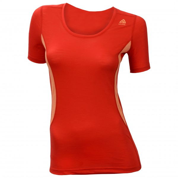 Aclima - Women's LightWool T-Shirt Round Neck - Merinovilla-alusvaatteet