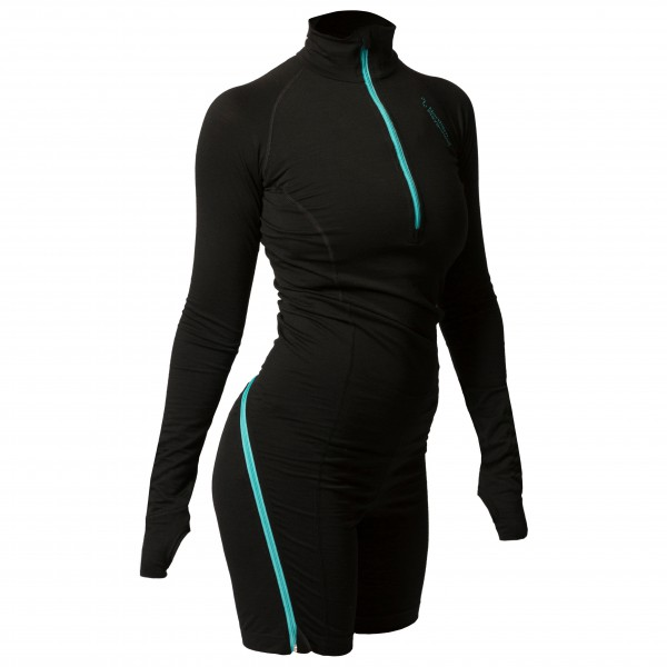 Northern Playground - Women's Zipbody Wool - Merino base layer