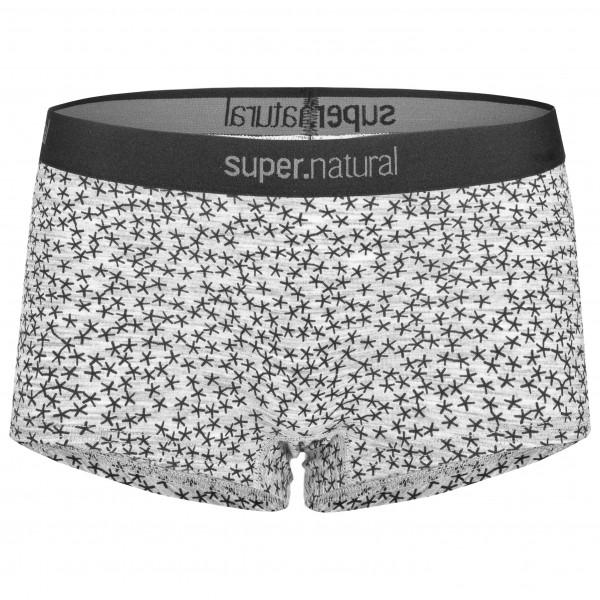 SuperNatural - Women's Base Boyfriend Hipster 175 Printed - Underkläder merinoull