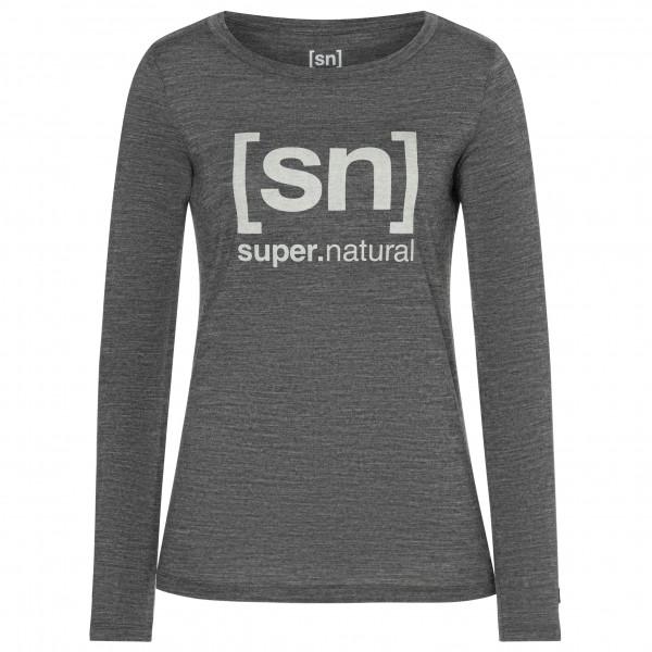 super.natural - Women's Essential I.D. L/S - Merinounterwäsche