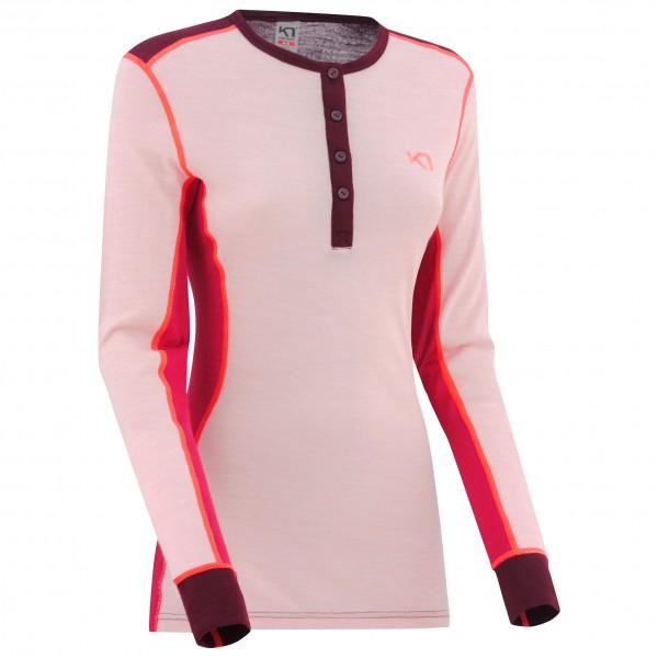 Kari Traa - Women's Flette L/S - Underkläder merinoull