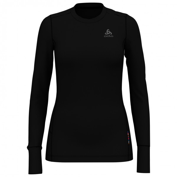Odlo - Women's Suw Top Crew Neck L/S Natural Merino - Merino base layer