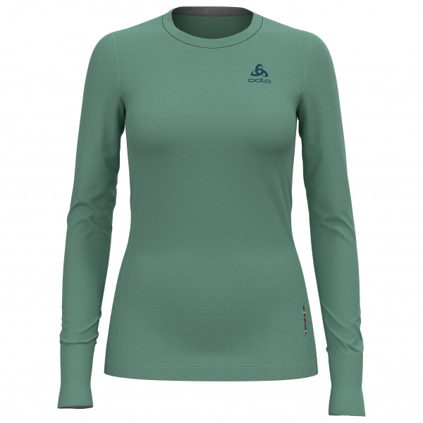 Odlo - Women's Suw Top Crew Neck L/S Natural Merino - Merinounterwäsche