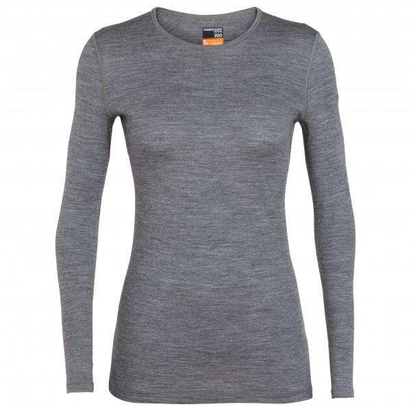 Icebreaker - Women's 200 Oasis L/S Crewe - Underkläder merinoull