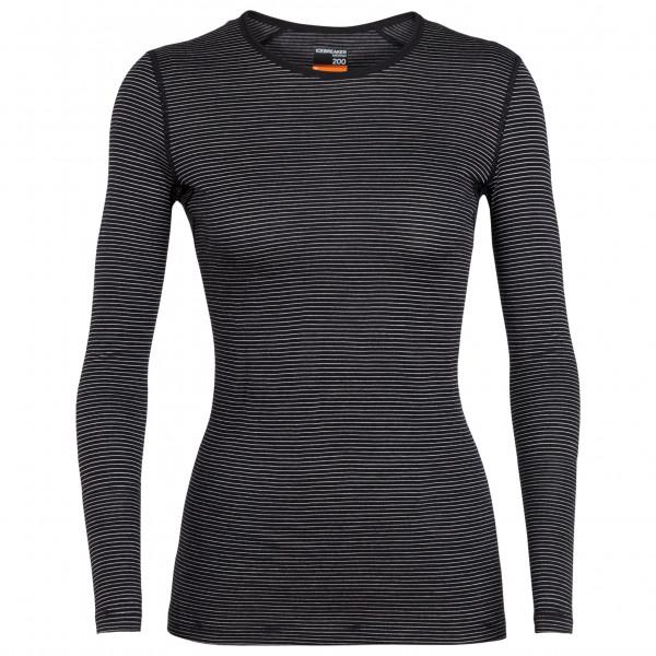 Icebreaker - Women's 200 Oasis L/S Crewe - Merino undertøj