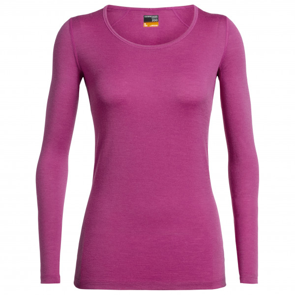 Icebreaker - Women's 200 Oasis L/S Scoop - Merino undertøj